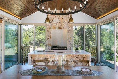 additions to a mid 90s two storey beach house provide a transition to modern 5 star lifestyle living an eclectic mix of natural stone polished concrete - Lifestyle Home Design Services